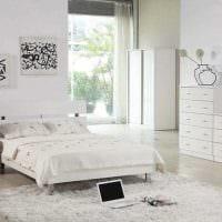 вариант необычного декорирования стиля спальной комнаты фото