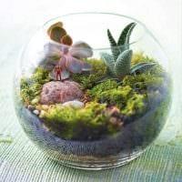 вариант необычного декорирования вазы картинка