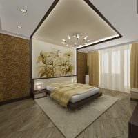 идея оригинального дизайна 2 комнатной квартиры фото