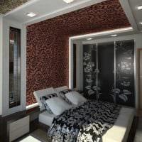 идея современного интерьера кухни 3-х комнатной квартиры картинка