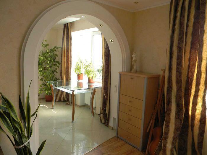 Межкомнатные арки в интерьере: фото 49