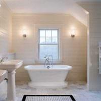 идея необычного дизайна ванной комнаты в квартире фото