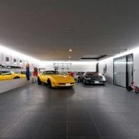 идея необычного оформления гаража фото