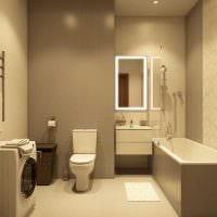 вариант яркого дизайна ванной картинка