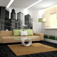 идея яркого украшения стен фото