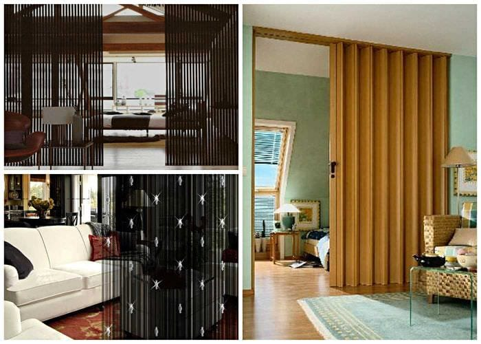 идея ярких декоративных штор в дизайне квартиры