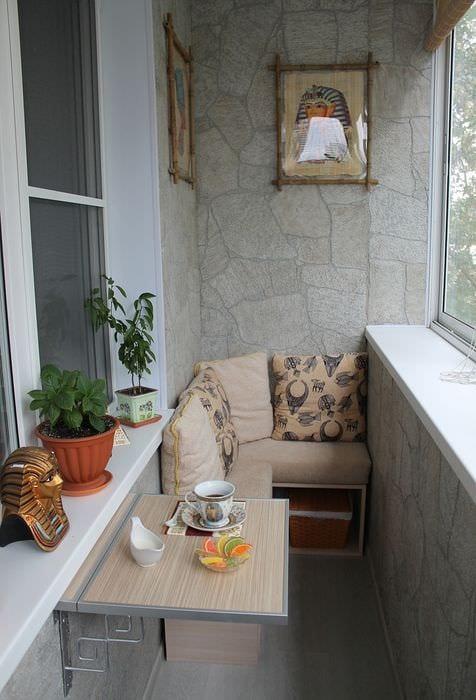Балкон в хрущевке дизайн фото