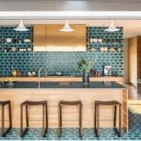 идея оригинального дизайна квартиры 2017 года фото