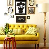 идея яркого стиля квартиры фото
