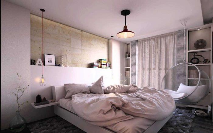 вариант оригинального интерьера квартиры