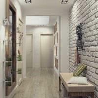 вариант цветной стиля коридора картинка