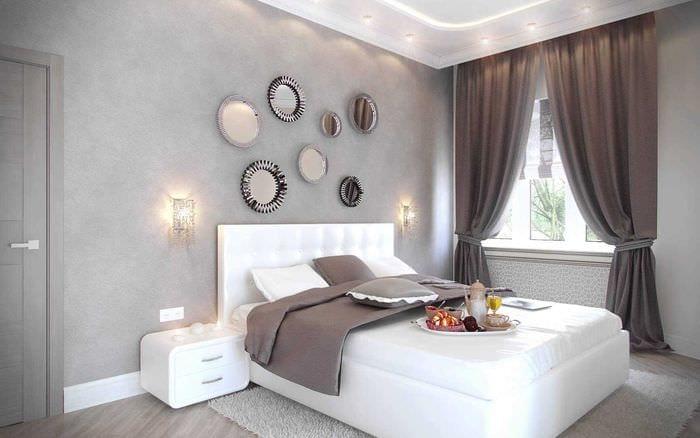 вариант современного интерьера гостиной 3-х комнатной квартиры