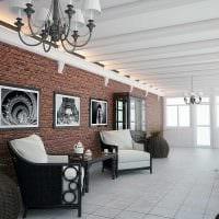 идея необычного стиля веранды в доме фото