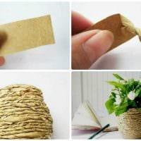идея красивого оформления вазы фото