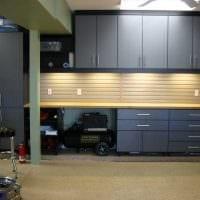 вариант необычного дизайна гаража картинка