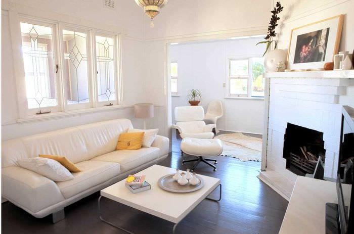 идея оригинального интерьера квартиры 2017 года