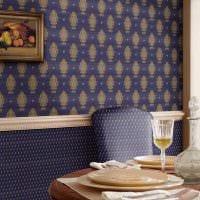 идея необычного декорирования стен в помещениях картинка