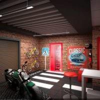 вариант оригинального оформления гаража картинка