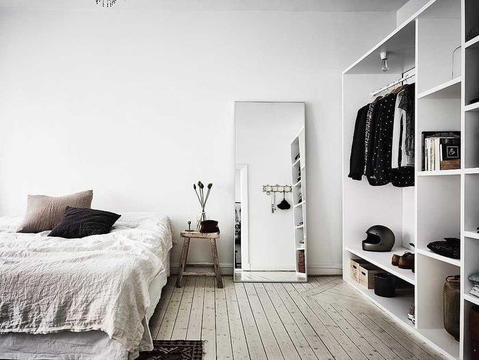 идея яркого декорирования дизайна спальной комнаты