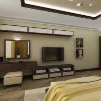 идея яркого интерьера 2 комнатной квартиры картинка пример