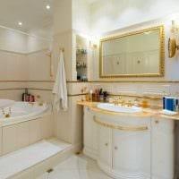 идея яркого дизайна белой ванной картинка