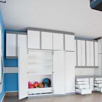 идея яркого стиля гаража фото