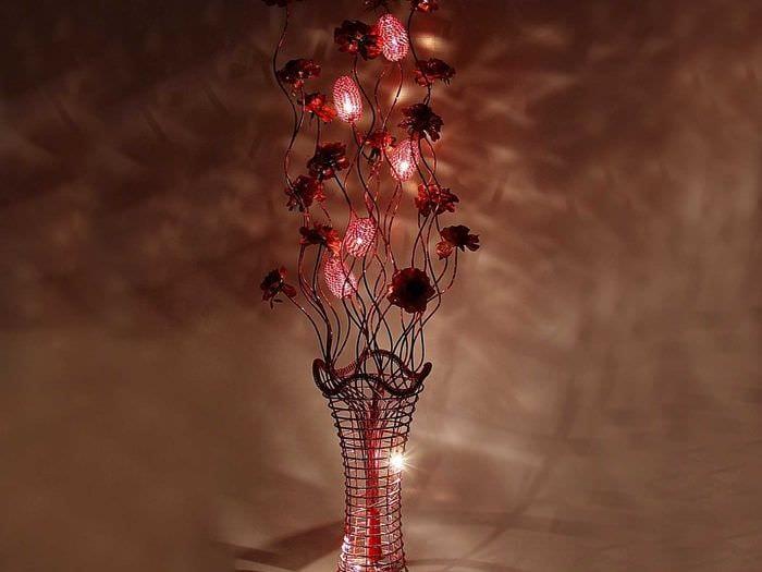 Ветки для напольной вазы своими руками 787