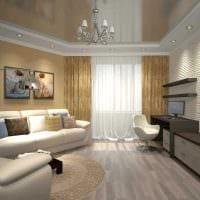 вариант красивого стиля квартиры картинка пример