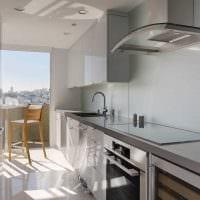идея необычного стиля квартиры 2017 года фото