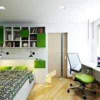 идея яркого стиля 2 комнатной квартиры картинка