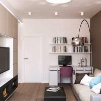 идея оригинального стиля 2 комнатной квартиры фото пример