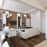 идея оригинального интерьера 2 комнатной квартиры картинка