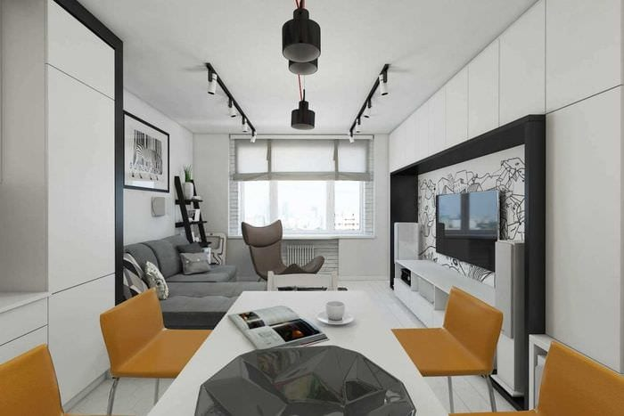 Дизайн квартиры серии 44п