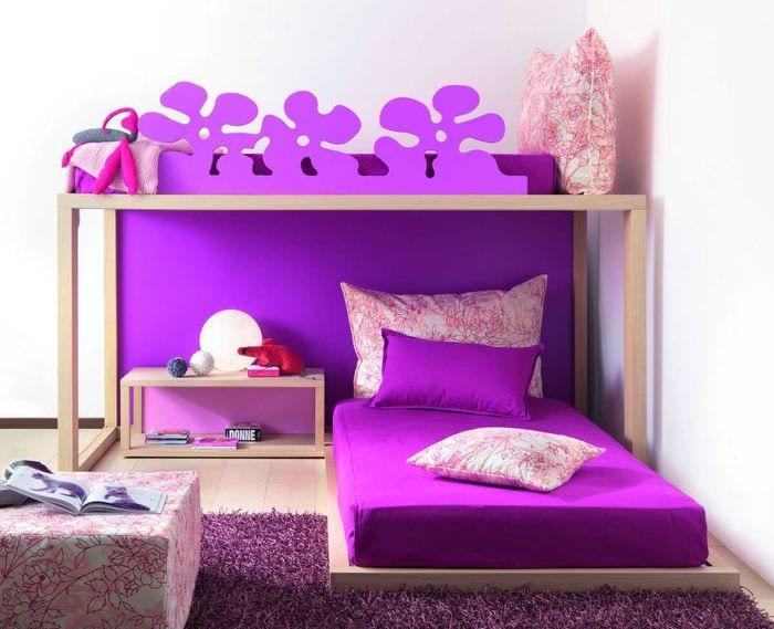 идея оригинального интерьера комнаты для девочки
