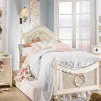 идея красивого дизайна комнаты для девочки картинка