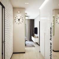 идея оригинального стиля коридора картинка