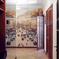 идея красивого стиля коридора фото