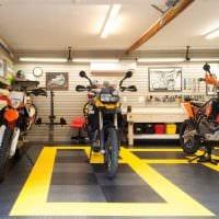 идея красивого стиля гаража фото