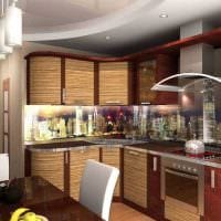 вариант современного интерьера гостиной 3-х комнатной квартиры картинка