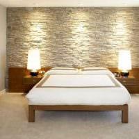 идея красивого декоративного камня в стиле квартиры картинка