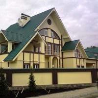 вариант красивого декорирования дома картинка