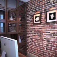 идея оригинального декора спальни 3-х комнатной квартиры фото
