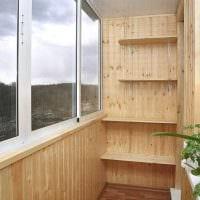 идея оригинального интерьера маленького балкона картинка