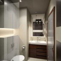 идея необычного интерьера кухни 3-х комнатной квартиры картинка