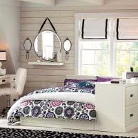 идея оригинального стиля комнаты для девочки фото