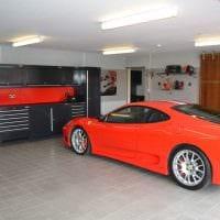 идея необычного дизайна гаража фото