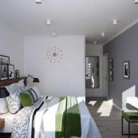 вариант красивого дизайна гостиной 3-х комнатной квартиры фото
