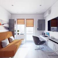 идея необычного дизайна 2 комнатной квартиры картинка