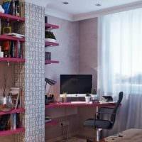 идея красивого декора спальни для девочки картинка
