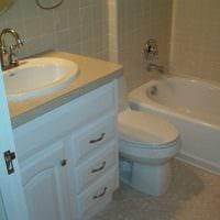 вариант красивого дизайна ванной комнаты фото